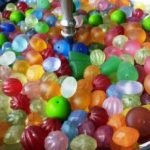 Super yummy resin beads ready to string!