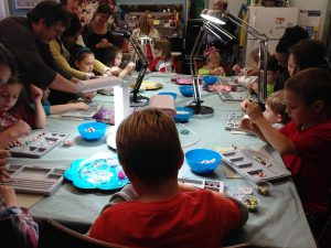 Jewelry-making Birthday Party at Ain't Miss Bead Haven