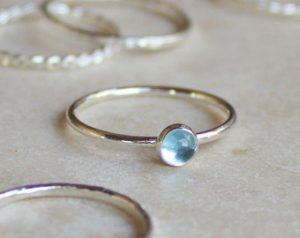 Sterling Silver Stacked Ring Trio - Soldering